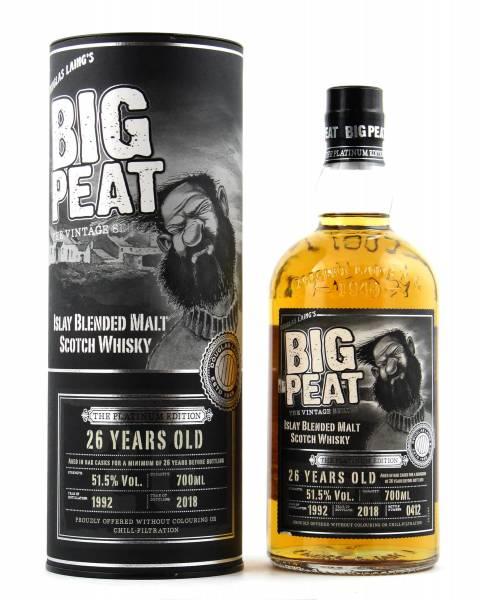 Big Peat 26 Jahre The Platinum Edition 0,7l