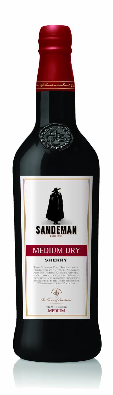 Sandeman Medium Dry 0,75 Liter