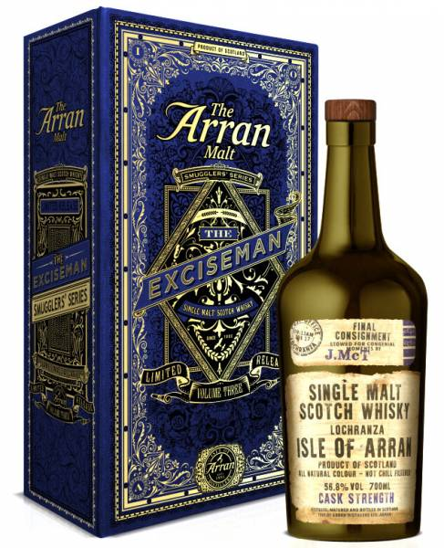 Arran Smugglers 3 The Exciseman 0,7l