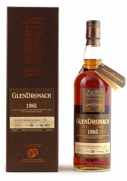 GlenDronach 1985 #1037 30 Jahre Batch 14 0,7 Liter