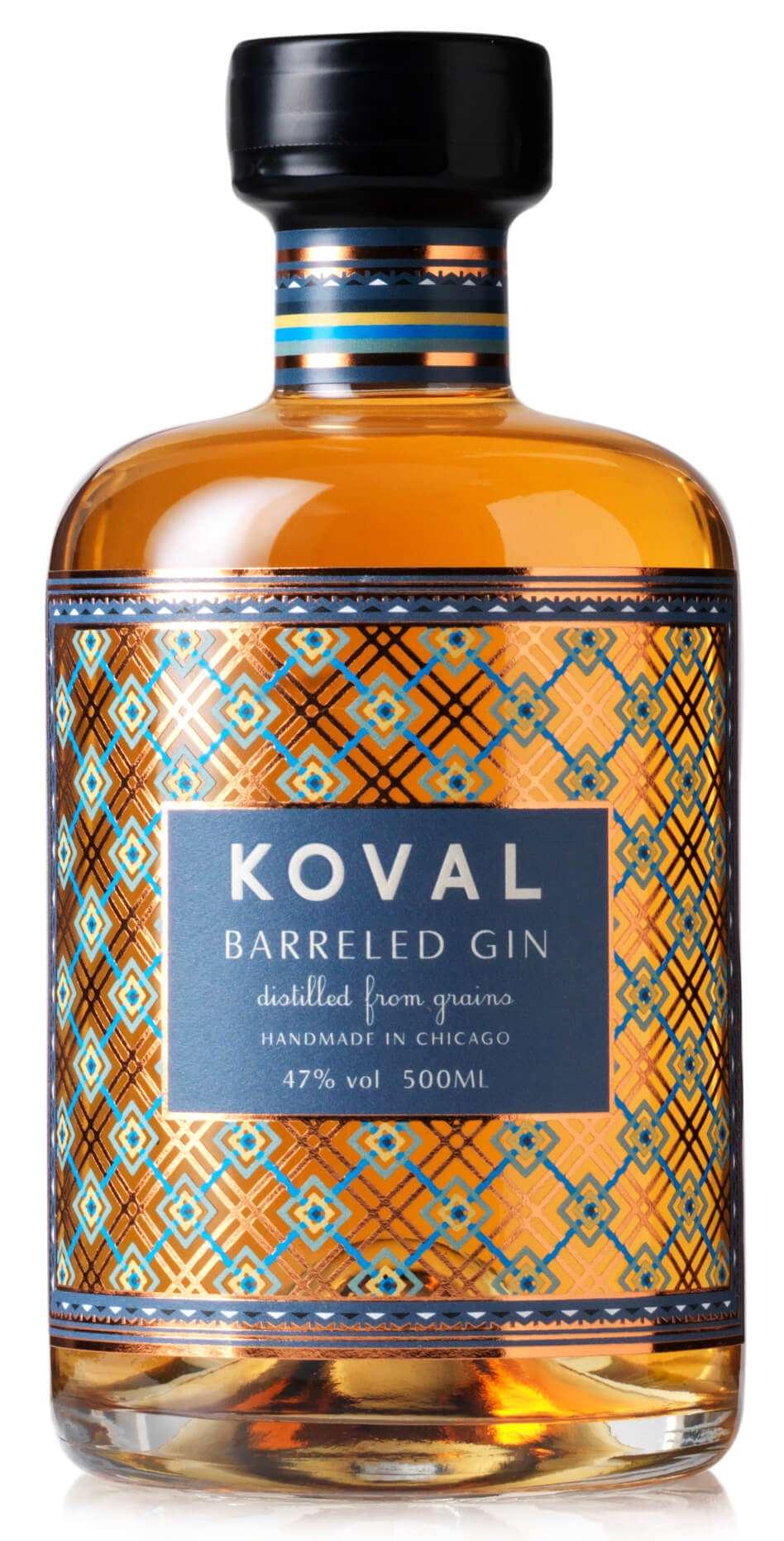 Koval Barreled Grain Gin 47% 0,5l im Whiskeyfass gereift | bolou.de