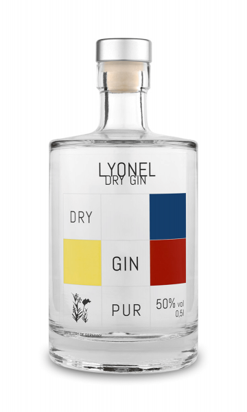 Lyonel London Dry Gin 50% 0,5 Liter