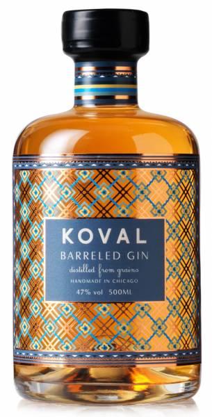 Koval Barreled Grain Gin 47% 0,5l