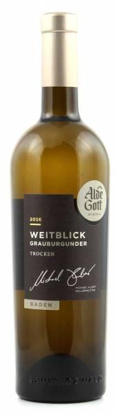 Alde Gott Weitblick Grauburgunder trocken 0,75l