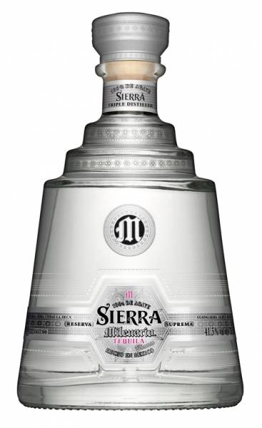 Sierra Milenario Blanco Tequila 0,7 Liter