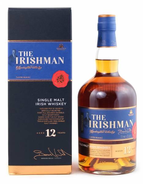 The Irishman 12 Jahre Single Malt 0,7 Liter