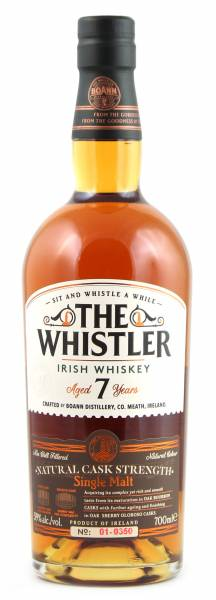 The Whistler Cask Strength Whiskey 7 Jahre 0,7l