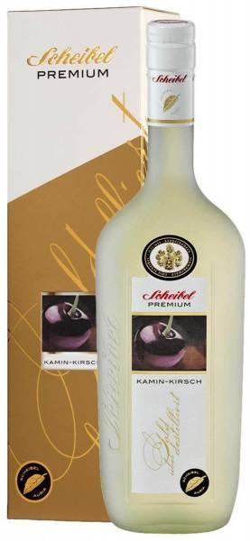 Scheibel Premium Kamin-Kirsch mit Geschenkverpackung 0,7l