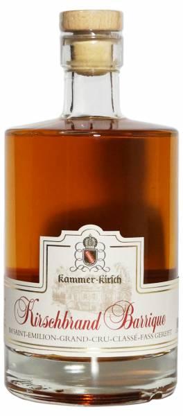 Kammer-Kirschbrand Barrique Saint Emillion Grand Cru Classe Fass 0,5l