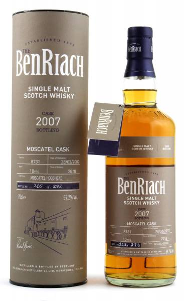 BenRiach 10 Jahre Cask #8731 Batch 15 0,7l