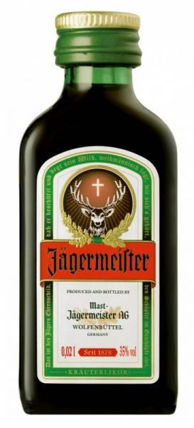 Jägermeister 24 x 0,02 Liter