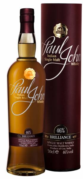 Paul John Brilliance 0,7 Liter