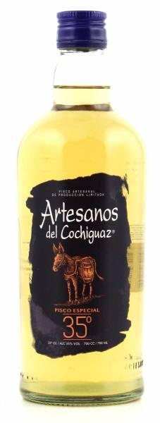 Pisco Los Artesanos del cochiguaz 0,7l