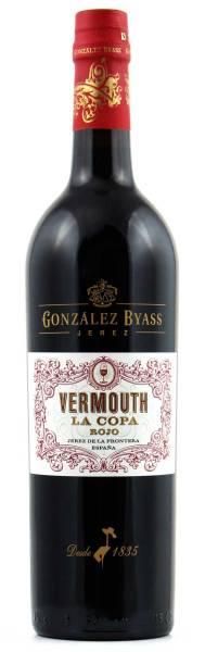 Vermouth La Copa Rojo Gonzalez Byass 0,75l