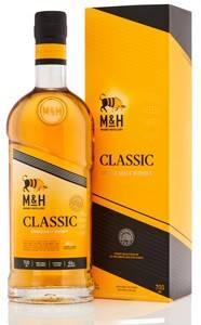 M&H Classic Single Malt Whisky 0,7 Liter