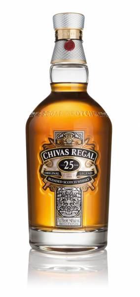 Chivas Regal 25 Jahre 0,7 Liter in edler Geschenkverpackung