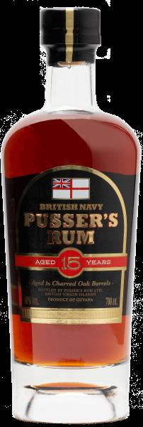 Pusser's Rum 15 Jahre 0,7l