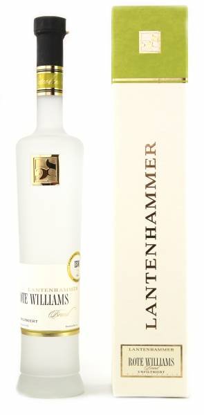 Lantenhammer Roter Williamsbirnenbrand unfiltriert 0,5l
