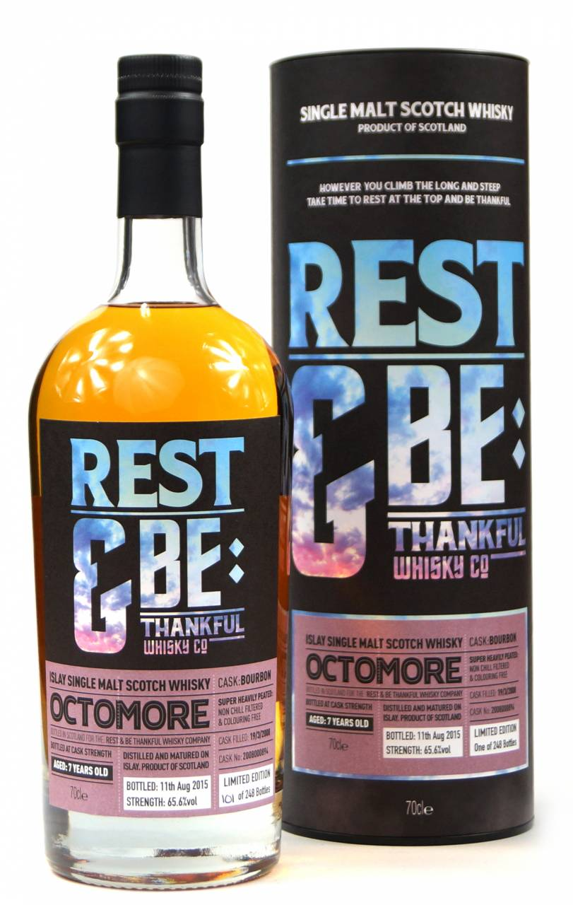 Octomore 7 Jahre 2008 Bourbon 65,6% Rest & Be 0...
