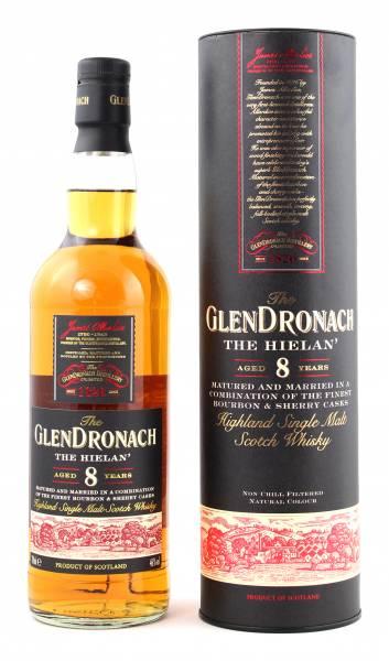 GlenDronach 8 Jahre Single Malt 0,7 Liter