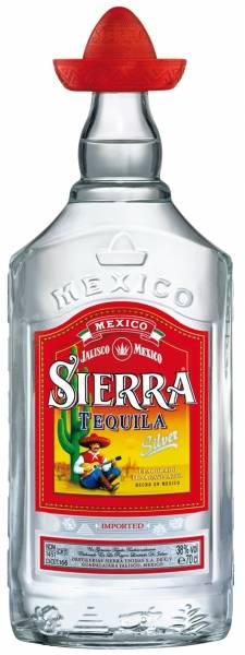 Sierra Silver Tequila 0,7 Liter