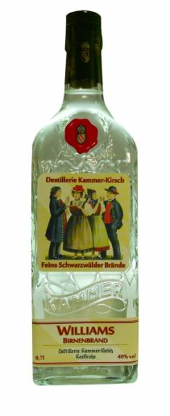 Kammer-Williams Feiner Williams Birnen Brand 0,7 Liter