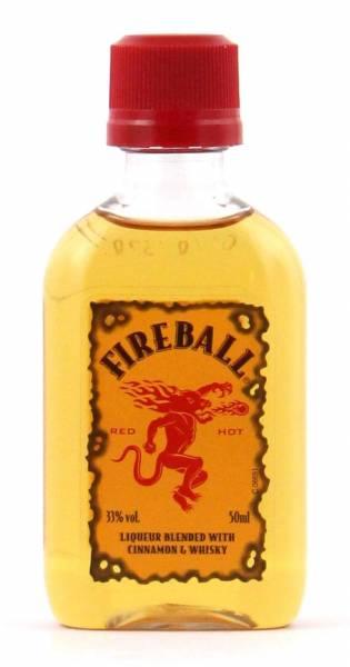 Fireball Miniatur Whisky Cinnamon Likör 0,05l