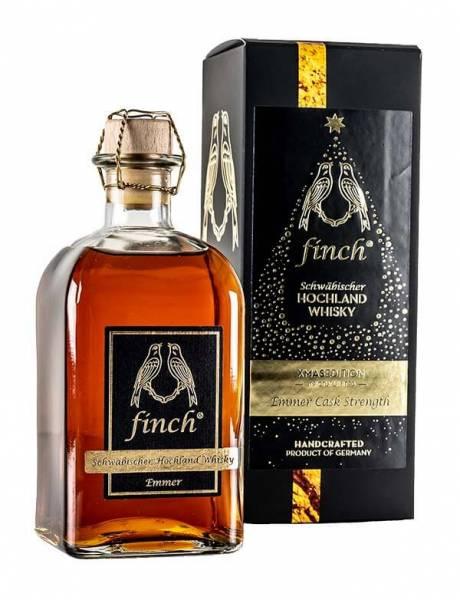 finch Schwäbischer Hochland Whisky XMASEDITION Emmer Cask Strength 0,5l