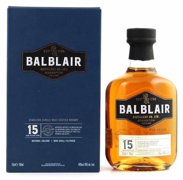 Balblair 15 Jahre Single Malt 0,7l