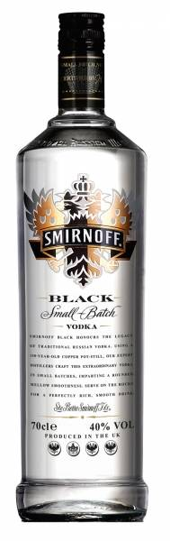 Smirnoff Vodka Black Label 0,7 Liter