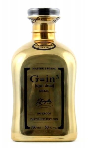 Ziegler Gin Gold Metal G=in3 0,7l