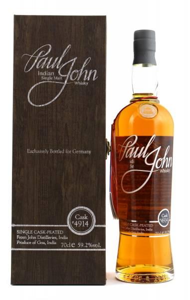 Paul John Single Cask Peated #4914 0,7l