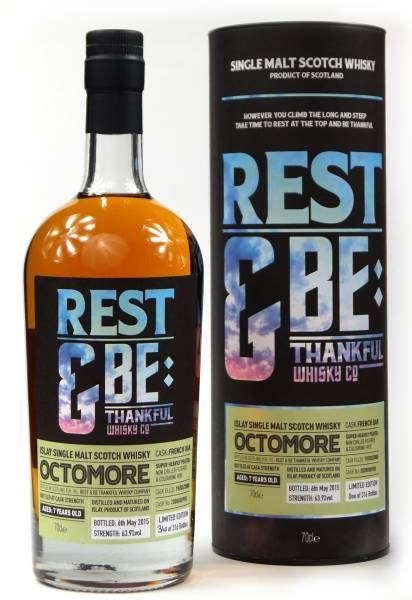 Octomore 7 Jahre 2008 French Oak 63,9% Rest & Be 0,7 Liter