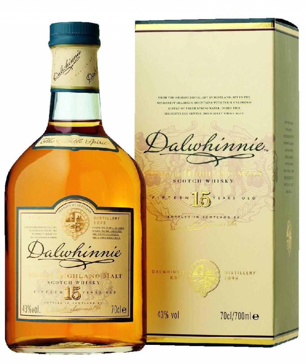 Dalwhinnie 15 Jahre 0,7 Liter