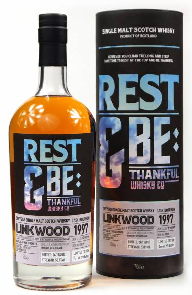 Linkwood 18 Jahre 1997 Bourbon #10195 Rest & Be 0,7 Liter
