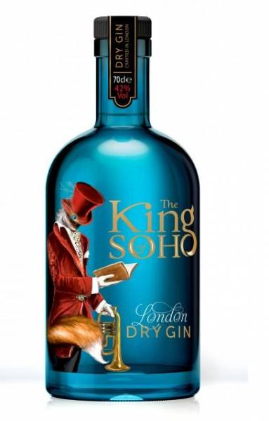 King of Soho London Dry Gin 0,7 Liter