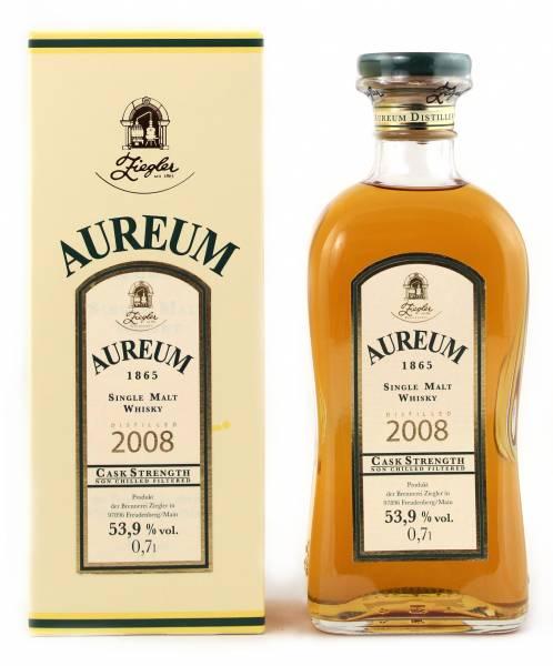 Ziegler Aureum 1865 Whisky Fassstärke 0,7 Liter